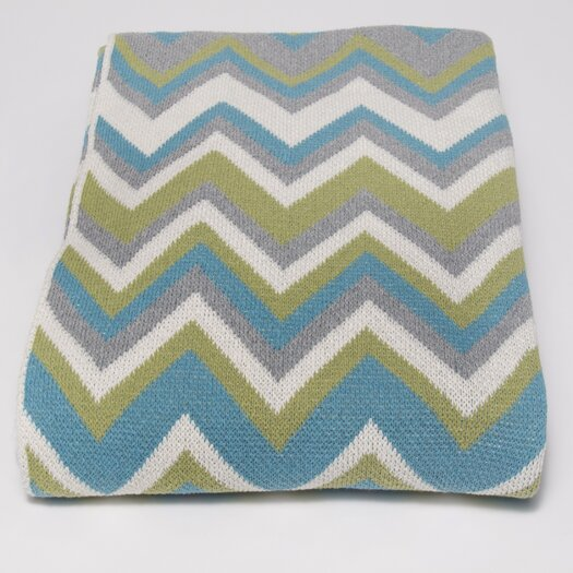 In2Green Eco ZigZag Throw Blanket
