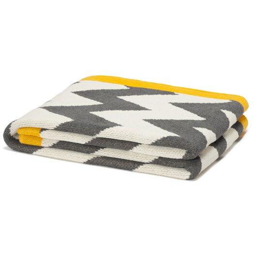 In2Green Eco Designer Zigzag Chevron Throw Blanket