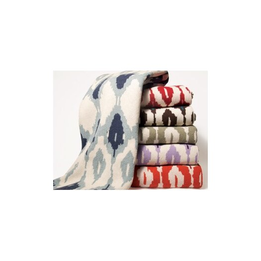 In2Green Eco Ikat Throw Blanket