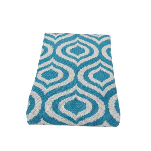 In2Green Eco Royal Cotton Yarn Throw Blanket