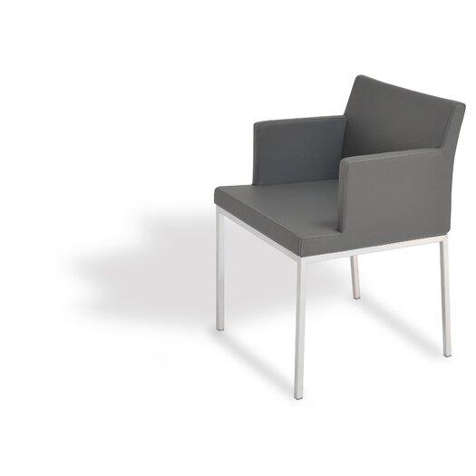 Soho Chrome Arm Chair