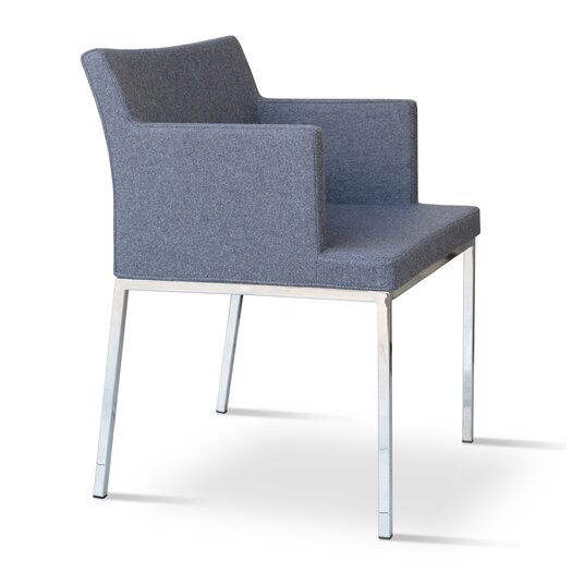 sohoConcept Soho Chrome Arm Chair