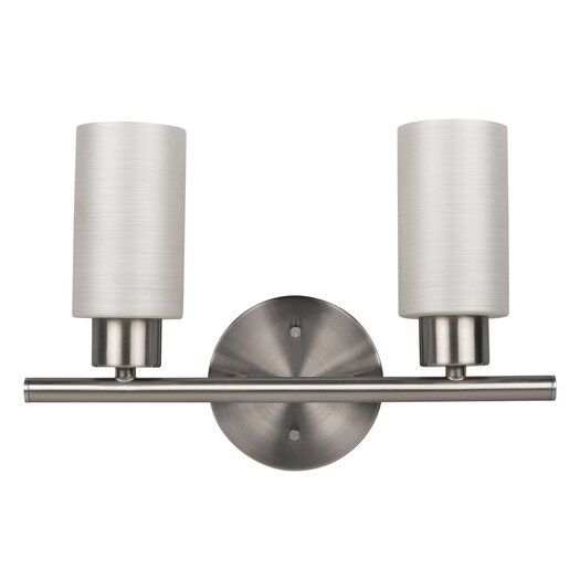 Canarm Margo 2 Light Bath Vanity Light