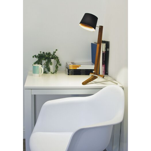 """Cerno Silva 21.5"""" H Table Lamp with Empire Shade"""