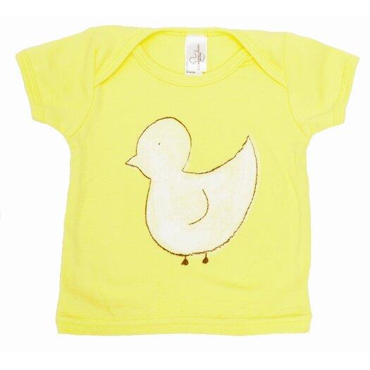 Alex Marshall Studios Duck Lap T Shirt in Yellow