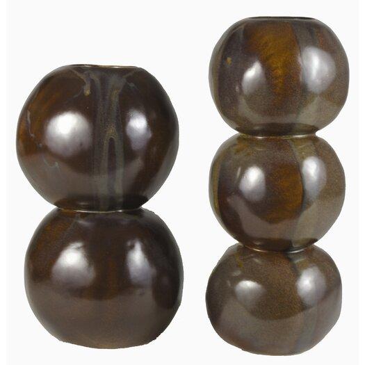 Triple Sphere Vase