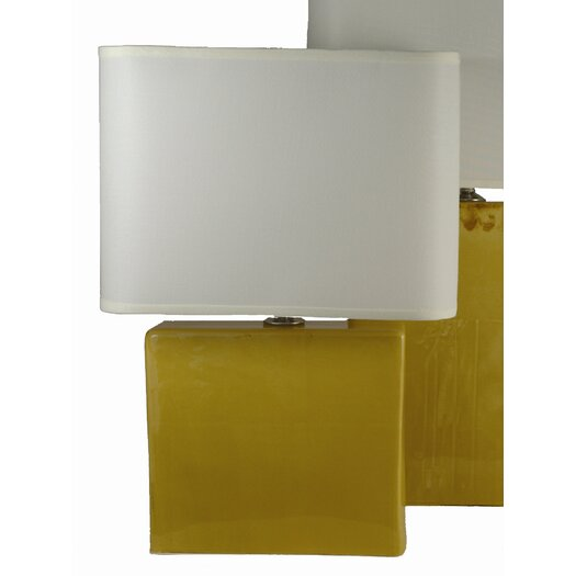 Alex Marshall Studios Table Lamp with Rectangle Shade