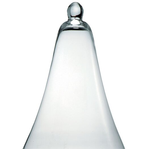 Barreveld International Glass Flared Bell Sculpture