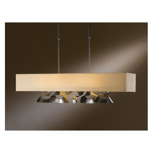 Hubbardton Forge Twofold Rect 4 Light Pendant