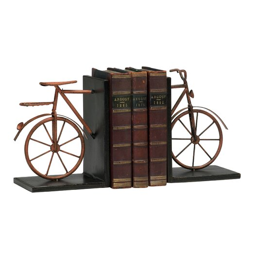 Cyan Design Bicycle Book Ends