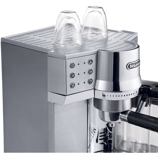 DeLonghi 15-Bar Pump Espresso Maker with Automatic Cappuccino System
