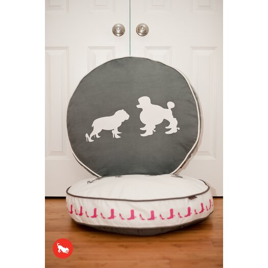 P.L.A.Y. Cosmopolitan Heels and Boots Round Dog Pillow
