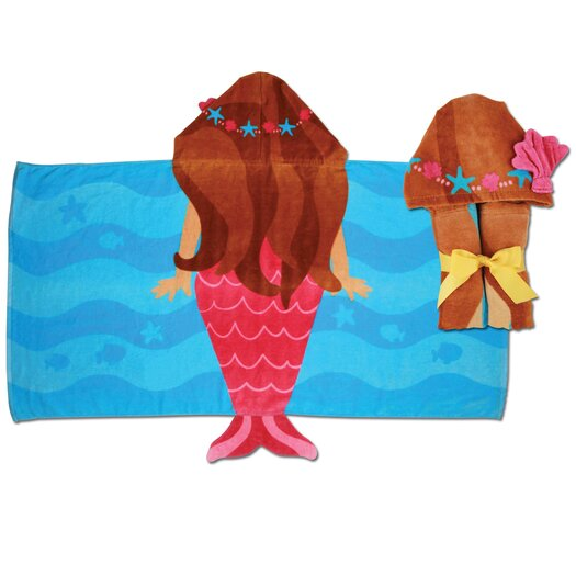 Stephen Joseph Mermaid Hooded Towel