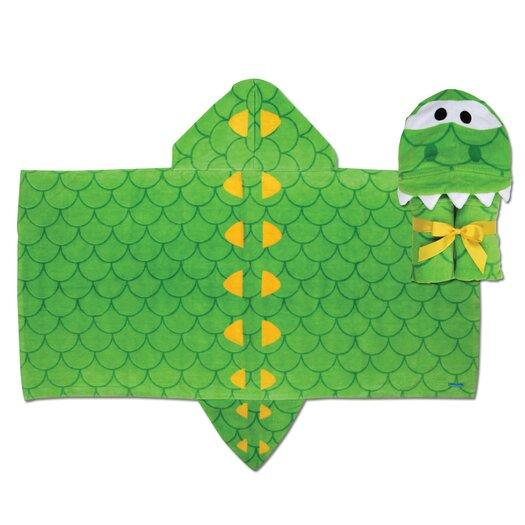 Stephen Joseph Alligator Hooded Towel