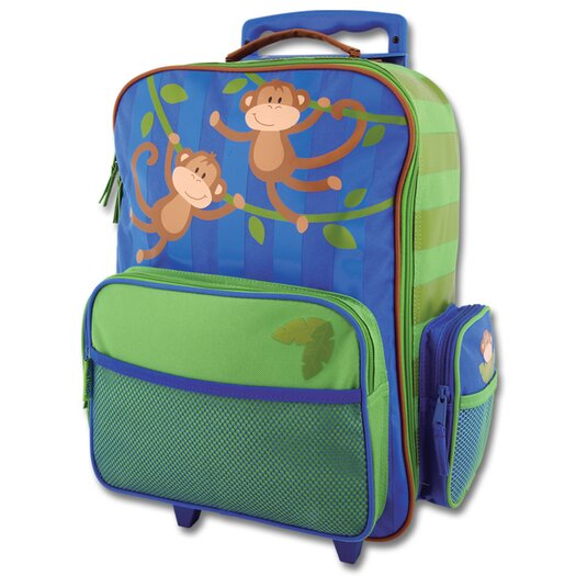 Stephen Joseph Monkey Rolling Luggage