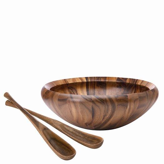 Dansk Wood Classics Salad Bowl