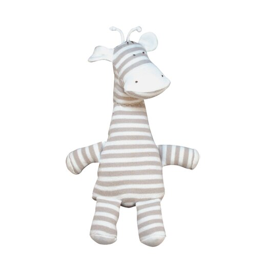 Under the Nile Nature's Nursery Striped Giraffe Toy