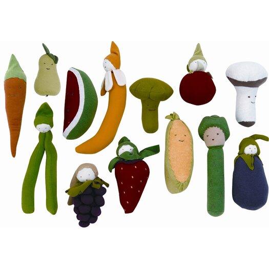 Under the Nile Veggies Carrot Plush Toy
