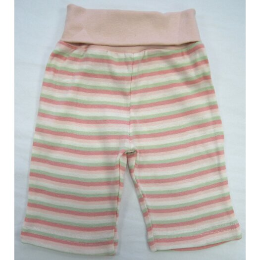 Under the Nile Twenty-Four Seven Rolled Waist Pant in Pink Stripes