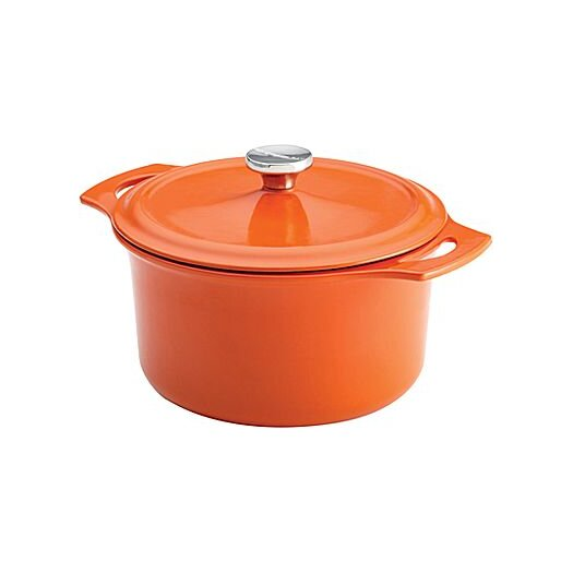 Rachael Ray Cast Iron 5-qt. Round Dutch Oven