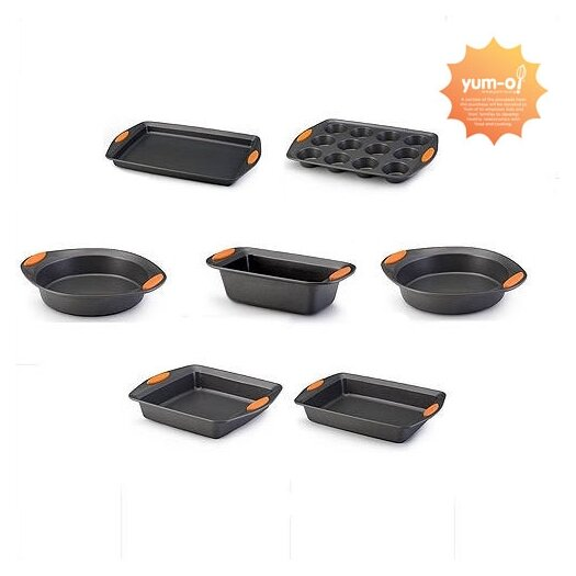 Rachael Ray Yum-O Oven Lovin' 6-Piece Bakeware Set