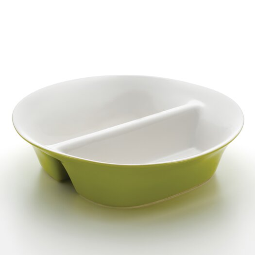 Rachael Ray Round and Square Divided Serving Dish