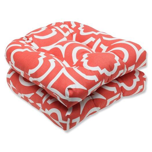 Pillow Perfect Carmody Wicker Seat Cushion