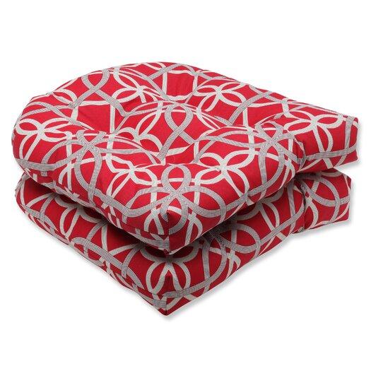 Pillow Perfect Keene Wicker Seat Cushion