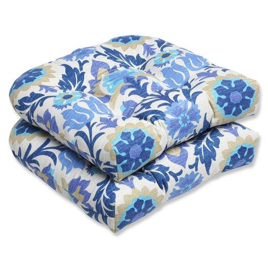 Pillow Perfect Santa Maria Wicker Seat Cushion