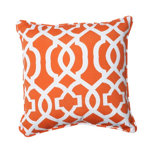 Pillow Perfect New Geo Indoor/Outdoor Throw Pillow