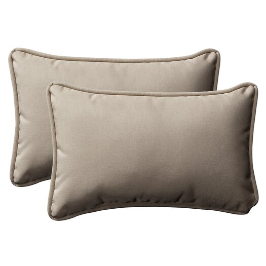 Pillow Perfect Decorative Rectangle Toss Pillow (Set of 2)