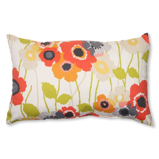 Pillow Perfect Pic-A-Poppy Throw Pillow