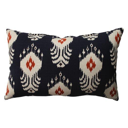 Pillow Perfect Ikat Cotton Throw Pillow
