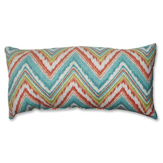 Pillow Perfect Chevron Cherade Polyester Throw Pillow