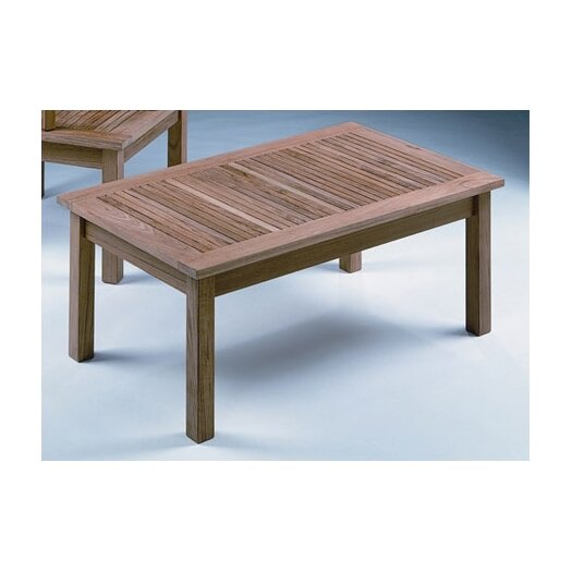 Monaco Rectangular Low Coffee Table