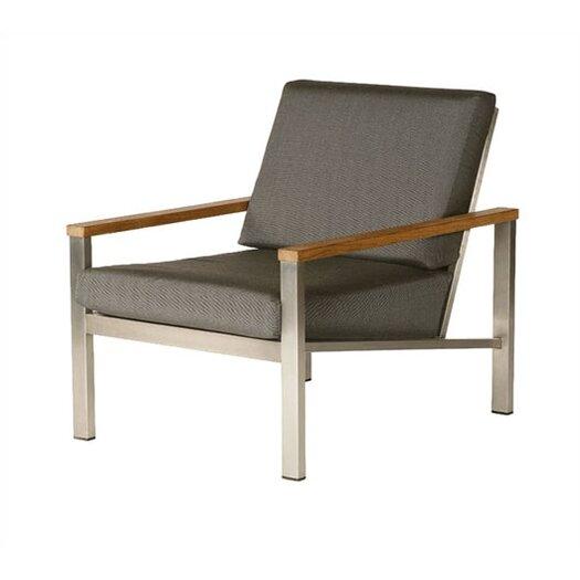 Barlow Tyrie Teak Equinox Deep Seating Arm Chair