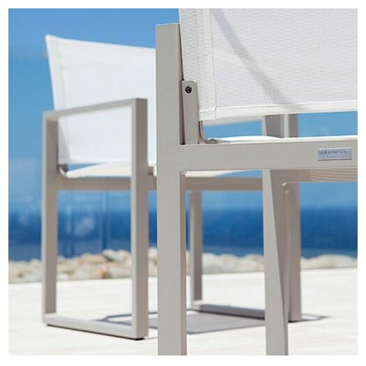 Harbour Outdoor Piano Dining Arm Chair
