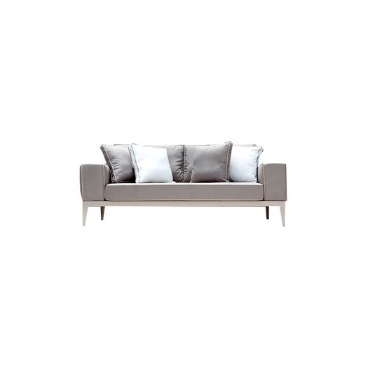 Harbour Outdoor Balmoral Deep Seating Sofa with Cushions