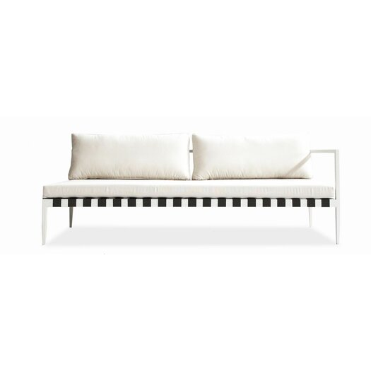 Harbour Outdoor Pier Right Arm Deep Seating Sofa with Cushions