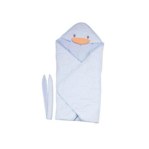 Piyo Piyo Stylish Winter Receiving Blanket in Blue