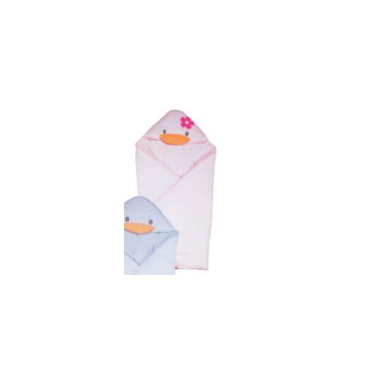 Piyo Piyo Stylish Summer Receiving Blanket in Pink