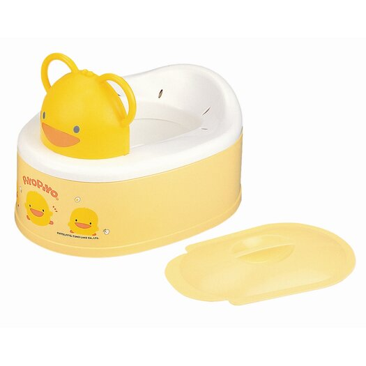 Piyo Piyo Two Stage Style Potty in Yellow