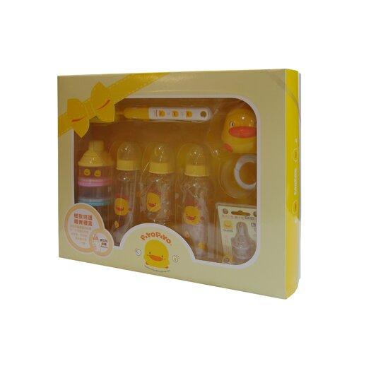 Piyo Piyo Wide Neck PP Bottle Gift Set
