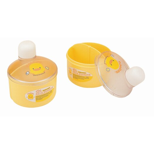 Piyo Piyo Dual Case Newborn Milk Powder Dispenser
