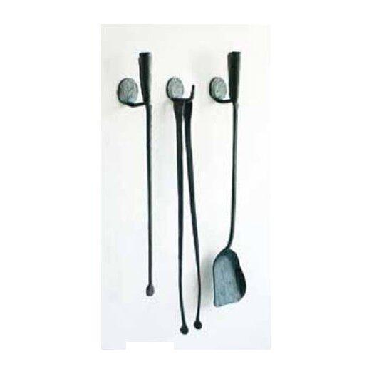 Conmoto Ferro and Fuoco 3 Piece Iron Fireplace Tools