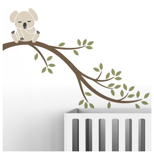 Tree Branches Koala II Wall Decal