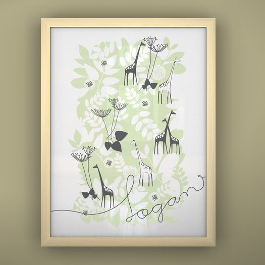 LittleLion Studio Prints Unframed Backyard Art