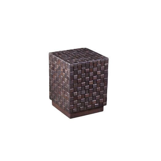 Phillips Collection Square Piecemeal Stool