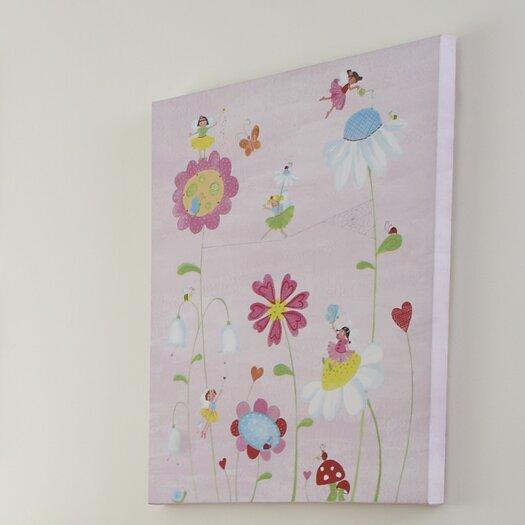 The Little Acorn Natureland Fairies Canvas Art
