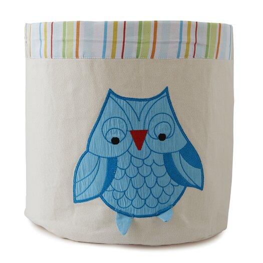 The Little Acorn Funny Friends Owl Toy Storage Bin